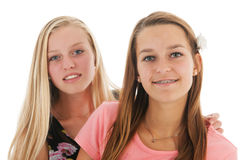 Teen girlfriends Royalty Free Stock Photos