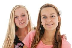 Teen girlfriends Royalty Free Stock Photos