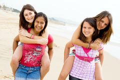 Teen girls Royalty Free Stock Image
