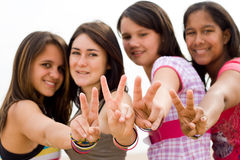 Teen girls Royalty Free Stock Photos