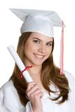 Teen Graduate royalty free stock photos