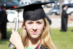 Teen Graduate Stock Photography