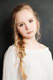 teen gullig flicka Fotografering för Bildbyråer