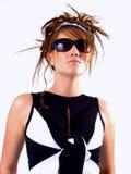 teen härlig brunett Royaltyfri Fotografi