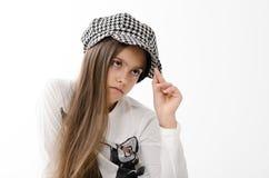 teen härlig flicka Royaltyfri Fotografi