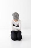 teen härlig flicka Fotografering för Bildbyråer