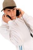 Teen headset Royalty Free Stock Photo