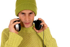 Teen headset Royalty Free Stock Photos