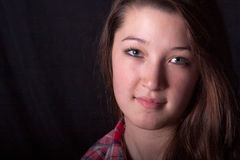 Teen headshot Royalty Free Stock Photography