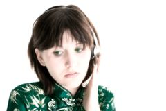 Teen Help Line Royalty Free Stock Photo