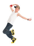 Teen hip hop dancer Royalty Free Stock Images