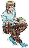 Teen Holding Cookie Plate Royalty Free Stock Photos