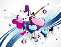 Teen illustration Stock Photo
