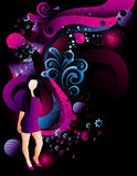 Teen illustration Royalty Free Stock Images