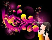 Teen illustration Royalty Free Stock Image