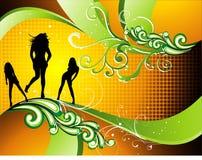 Teen illustration Stock Image