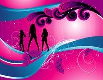 Teen illustration Royalty Free Stock Photos