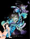 Teen illustration Stock Photos