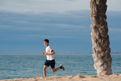 Teen jogging Stock Images