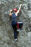 teen klättringflicka Royaltyfri Fotografi