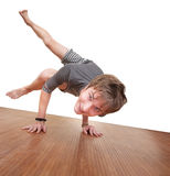 Teen In Koundinyasana Posture Stock Photography