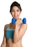 Teen Lifting Weights Royalty Free Stock Photos
