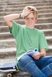 Teen looking frustrated Stock Photos
