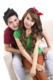 Teen love Royalty Free Stock Images