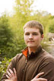 Teen Male Portrait Royalty Free Stock Photos