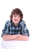 Teen male relaxing Royalty Free Stock Images