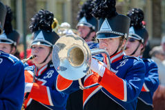 Teen marching band Royalty Free Stock Image