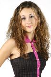 Teen Model 1. Teenage model with great hair Stock Photography