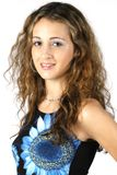 Teen Model 4. Pretty teenage model with great hair Stock Photography