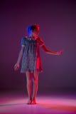 The teen modern ballet dancer royalty free stock photo