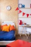 Teen modern bedroom Royalty Free Stock Image