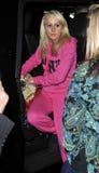 Teen Mom star Leah Simms at LAX Stock Image