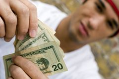 Teen Money Royalty Free Stock Images