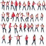 Teen morn dancer Stock Photo