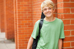 Teen musician Royalty Free Stock Photo