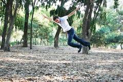 Teen in park Stock Image