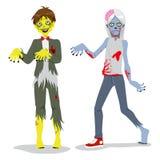 Teen pojkar för Zombie Royaltyfria Bilder