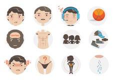teen pojke vektor illustrationer