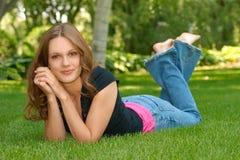 Teen portrait stock images