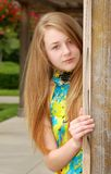 Teen portrait outdoors Stock Photography