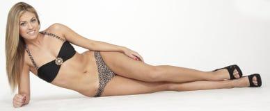 Teen Portrait Swim Suit Stock Images