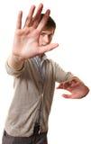 Teen Practes Martial Arts Stock Photography