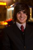 Teen on prom night royalty free stock photography