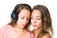 Teen radio. Stock Photo