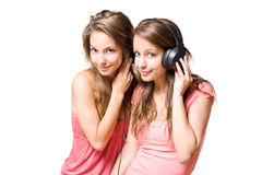Teen radio. Royalty Free Stock Photo