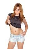 Teen rebellious girl Royalty Free Stock Photography
